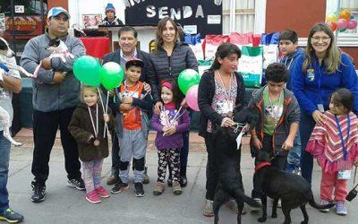Senda Nancagua firmes protagonistas en la comuna