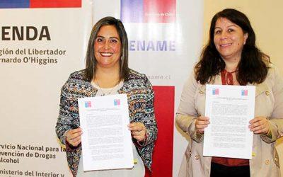 Senda y Sename firman protocolo para trabajo integrado entre ambas instituciones
