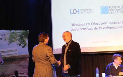 Universidad de OHiggins aborda temáticas de vulnerabilidad en seminario Brechas en la educación