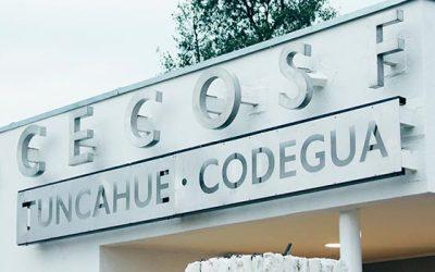 Autoridades realizan término de obras civiles de Cecosf Tuncahue
