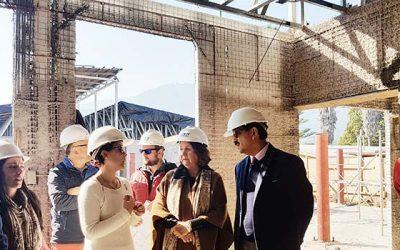 Avanza construcción de nuevo jardín infantil de la Junji en Las Cabras
