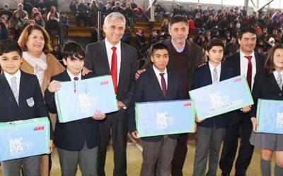 Cerca de 20 mil computadores recibirán alumnos de la Sexta Región