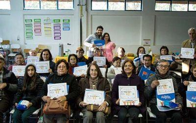 Certificación líderes comunitarios programa más adultos mayores autovalentes