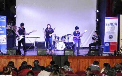 Con música y teatro inician actividades conmemorativas al mes de la prevención en el Senda