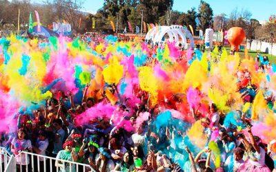 Con multitudinaria asistencia Rancagua celebró la corrida The color run