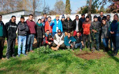 Conaf celebra día del medio ambiente en centro de rehabilitación Renacer en San Fernando