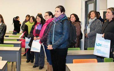 Directores y orientadores de establecimientos educacionales conocen avances de la Universidad de OHiggins