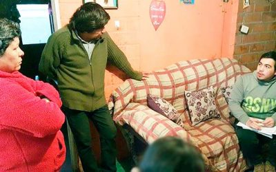 Egis trabaja con vecinos de las villa Deseada y Gabriela Mistral de Rengo
