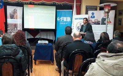 En San Fernando se realiza taller de seguridad turística enfocado en la remoción de masas
