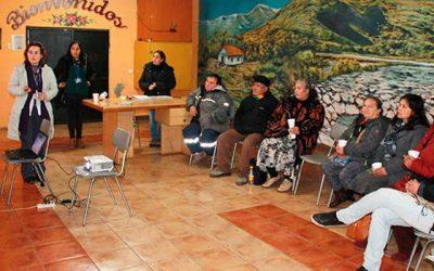 Equipo de promoción de Rengo, realiza taller de vivienda saludable
