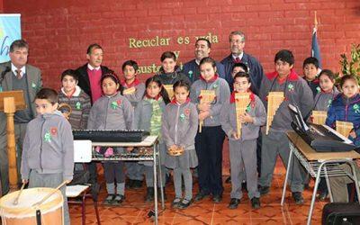 Escuela Matancilla de Litueche se compromete con el medio ambiente