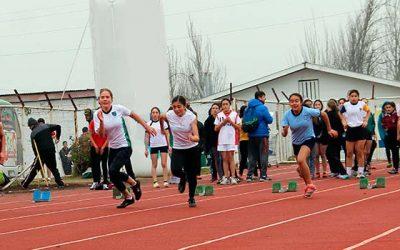 Gran convocatoria en regional de atletismo