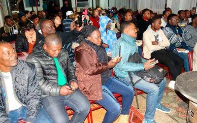 IPS acerca beneficios previsionales a inmigrantes haitianos en Rengo