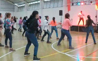 Internas del Centro Penitenciario de Rancagua celebraron fitness mujer