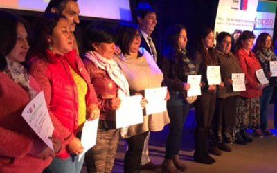 La Conaf certifica a trabajadoras de Programa de Emergencia de Empleo en Peralillo