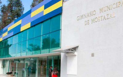 Mostazal reinaugura gimnasio municipal de primer nivel
