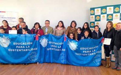 Municipio y colegios de Pichidegua se certificaron en el día mundial del medio ambiente
