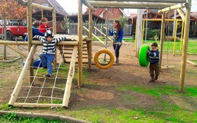 Nueva plaza activa están disfrutando niños y niñas de la comuna de Machalí