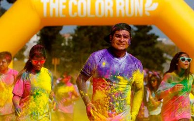 Por primera vez Rancagua vivirá la alegría de The color run