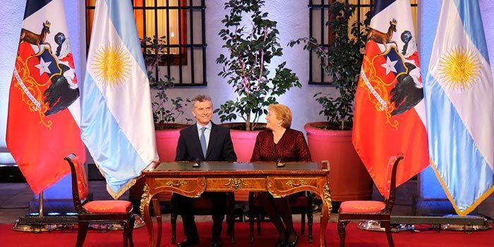 Presidenta Bachelet destacó avances del proyecto Paso Las Leñas en encuentro con Mandatario argentino