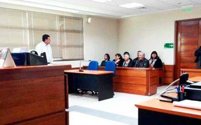 Primer Juzgado de Letras de Santa Cruz dicta charla a presidentes de juntas de vecinos