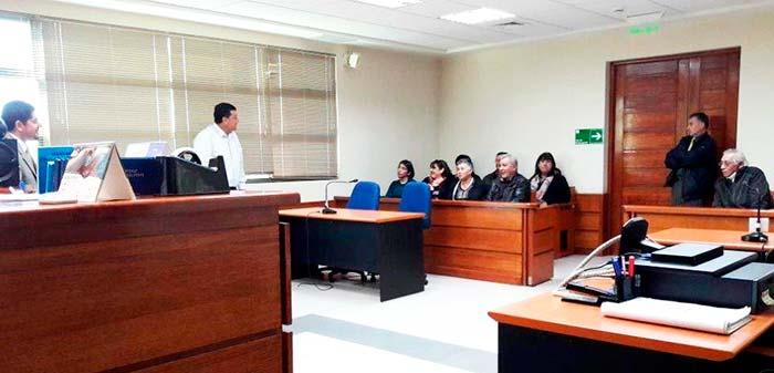 Primer juzgado de letras de santa cruz dicta charla a for Juzgado de letras