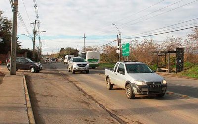 Rancagua Aprueban la semaforización del cruce de la Ruta H-210 con avenida La Foresta