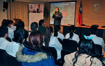 Sernatur OHiggins realiza charla de conciencia turística a estudiantes