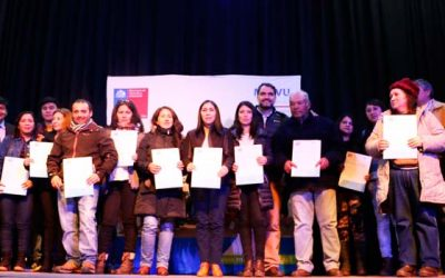 145 familias de Graneros reciben subsidios de vivienda