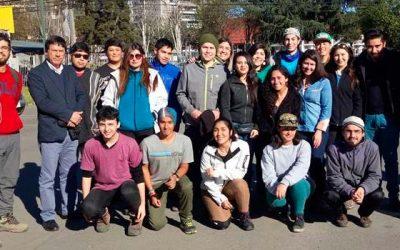 50 jóvenes inician trabajos voluntarios en la Reserva Nacional Río de Los Cipreses