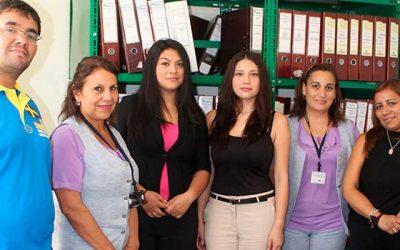 Alumnas del Liceo Polivalente cumplieron positivamente su práctica en Salud Machalí