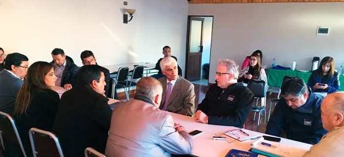 Autoridades solicitan mejoras al suministro eléctrico en reunión con CGE Distribución