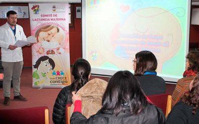 Cesfam Rienzi Valencia de Rengo certifica monitoras en lactancia materna