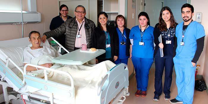 Comienza marcha blanca de la primera unidad geriátrica de la Región en Hospital Santa Cruz