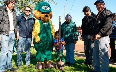 Conaf celebra el día del árbol con lanzamiento de programa de arborización en Lolol
