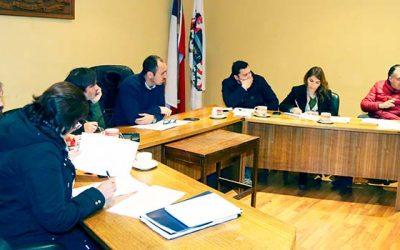 Concejo municipal de San Fernando entrega propuesta de convenio para conformar mesa de trabajo