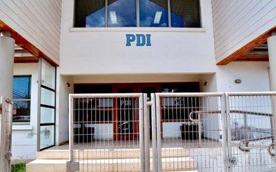 Core fiscaliza obras de ampliación del cuartel de la PDI