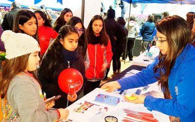 Día internacional de la prevención del Senda OHiggins 2017