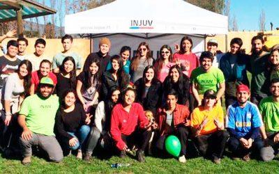 En Rancagua se llevó a cabo la selección en terreno del programa Vive tus parques del Injuv y la Conaf