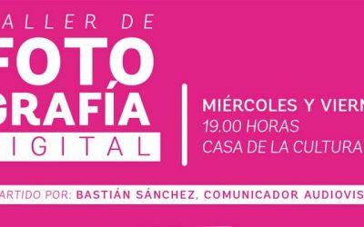 Este miércoles comienza taller de fotografía digital en San Fernando