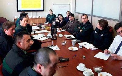 Exitosa reunión entre Gendarmería con el Instituto Nacional de Derechos Humanos