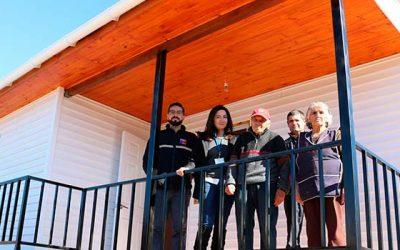 Gobierno pronto a entregar primeras viviendas de reconstrucción tras incendios forestales