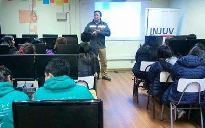 Injuv OHiggins realiza charla de Apresto Laboral en Peralillo