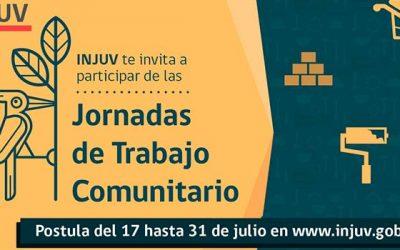 Injuv invita a postular a las jornadas de voluntariado comunitario