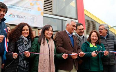 Integra inaugura jardín infantil en Santa Julia