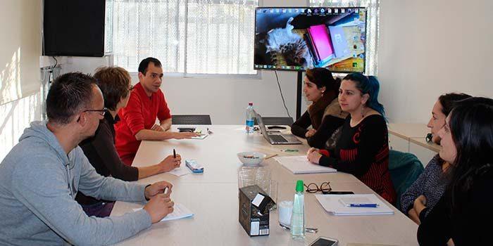 Investigadores de Bélgica se reúnen con académicos de la UOH y comparten proyectos en desarrollo