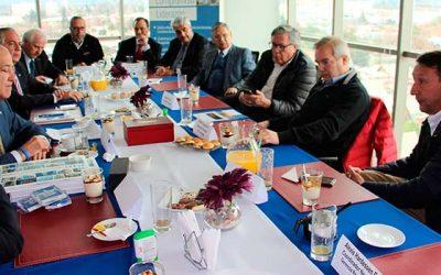 Mesa directiva nacional de la CChC cumple intensa agenda de actividades en Rancagua