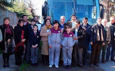 Mineduc financia transporte escolar a más de 7 mil alumnos de sectores rurales