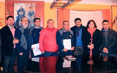 Municipalidad de Las Cabras entrega terrenos a bomberos para ampliación de cuarteles