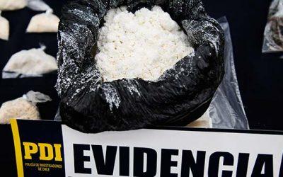 PDI desbarata proveedores de drogas del sector sur de Rancagua